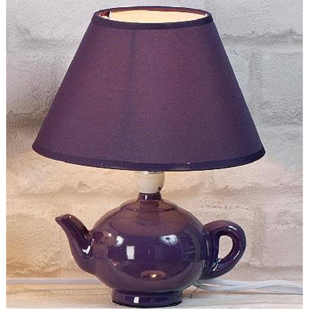 Tischleuchte teekanne keramik stil trends - Keramik tischleuchte ...